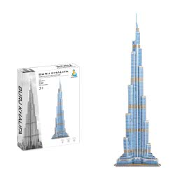 Toys-shop D.I Ji Qu Toys Puzzle 3D Burj Khalifa - 71Pcs JK081455 6990317814558