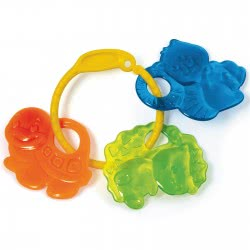 Clementoni baby Baby Clementoni Teeth Soother Forest Animals 1000-17061 8005125170616