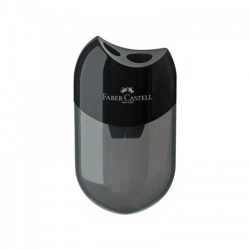 Faber-Castell Ξύστρα Double hole sharpener , Black 183500 6933256608062