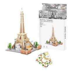 Toys-shop D.I Ji Qu Toys Puzzle 3D Eiffel Tower - 26 Pieces JK081461 6990317814619