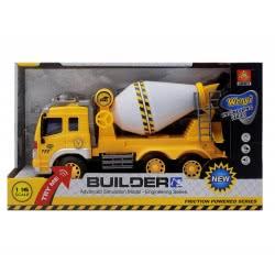 Toys-shop D.I FRICTION TRUCK - ΜΠΕΤΟΝΙΕΡΑ ΜΕ ΗΧΟ ΚΑΙ ΦΩΤΑ JA059025 6990317590254