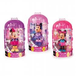 As company M.C.H Shopping Κούκλες Minnie 12cm Με Ρούχα-3 Σχέδια 1003-82615 8421134182615