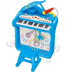Toys-shop D.I Αρμόνιο Με Σκαμπό Small Elegant Piano JM029698 6990317296989