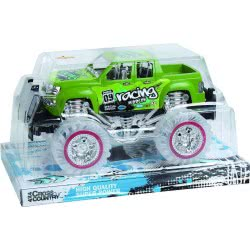 Toys-shop D.I FRICTION CAR - 4X4 CROSS COUNTRY VEHICLE - 2 COLORS JA062061 6990317620616