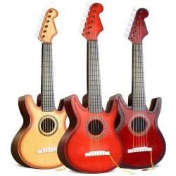 Toys-shop D.I Κιθάρα Rock Guitar Σε Κουτί 65 Εκ. - 3 Σχέδια JM029332 6990317293322