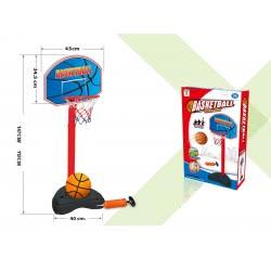 Toys-shop D.I TONGLEJIAN ΜΠΑΣΚΕΤΑ ΜΕΓΑΛΗ PORTABLE 147Εκ. ΜΕ ΤΡΟΜΠΑ JS051423 6990317514236