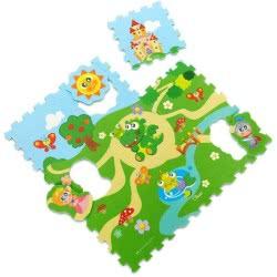 Chicco Παζλ χαλάκι κάστρο 9pcs Y03-05316-00 8058664067244