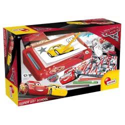 Real Fun Toys Disney Pixar Cars 3 Super Art School Δημιουργικό Εργαστήριο 60382 8008324060382