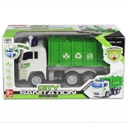 Toys-shop D.I FRICTION TRUCK - ΟΧΗΜΑ ΑΝΑΚΥΚΛΩΣΗΣ 27 ΕΚ. JA062266 6990317622665