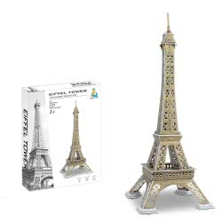 Toys-shop D.I Ji Qu Toys Παζλ 3D Πύργος Του Αιφελ - 51Τεμάχια JK081451 6990317814510