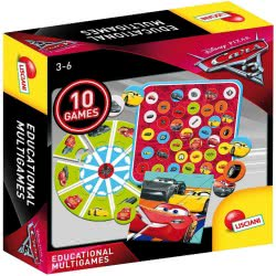Real Fun Toys Cars 3 Educational Multigames 61945 8008324061945