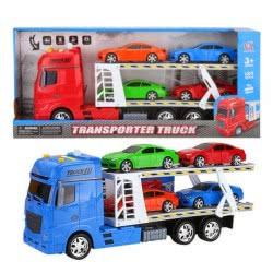 Toys-shop D.I Friction Truck - Νταλίκα Αυτοκινητοφόρεας Με Ήχο Και Φώτα - 3 Χρώματα JA062501 6990317625017
