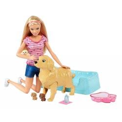 Mattel Barbie And The Newborn Pupps FDD43 887961465624