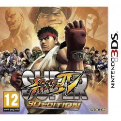 Nintendo 3DS SUPER STREET FIGHTER IV . 045496520526