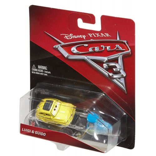 buy online e3540 f3bb8 Mattel Disney/Pixar Cars 3 Luigi And Guido Die-Cast DXV29 / FJH93