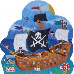ΨΥΧΟΓΙΟΣ Πειρατικό Καράβι - Βιβλίο Και Παζλ (72 Τμχ.) 19092 9786180118261