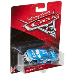 Mattel Disney/Pixar Cars 3 Dud Throttleman Αυτοκινητάκι Die-Cast DXV29 / DXV44 887961403039