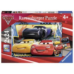 Ravensburger Παζλ 2x24τεμ Cars 3 07810 4005556078103