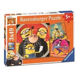 Ravensburger Παζλ 3x49τεμ Ο Απαισιότατος 3 08016 4005556080168