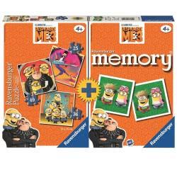 Ravensburger Memory & 3 Παζλ Ο Απαισιότατος 3 21309 4005556213092