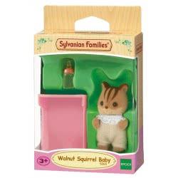 Epoch Sylvanian Families: Walnut Scuirrel Baby 030292 5054131050651