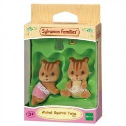 Epoch Sylvanian Families: Walnut Squirrel Twins 5081 5054131050811