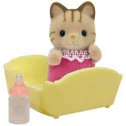 Epoch Sylvanian Families: Striped Cat Baby 5186 5054131051863