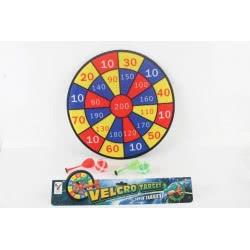 Toys-shop D.I Στόχος 36cm Darts με Velcro JS050089 6990416500895