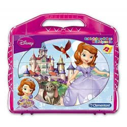Clementoni Παζλ 12 Κύβοι Disney: Sofia the First 1100-41174 8005125411740