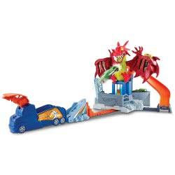 Mattel Hot Wheels Dragon Blast Playset DWL04 887961384154