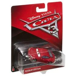 Mattel Disney/Pixar Cars 3 Natalie Certain Αυτοκινητάκι Die-Cast DXV29 / DXV35 887961403398