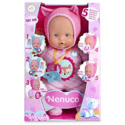 As company My Little Nenuco Soft 5 Functions - Pink 4104-12664 8410779021700