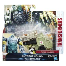 Hasbro Transformers: The Last Knight 1-Step Turbo Changer Autobot Hound C0884 / C1314 5010993365043