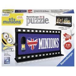 Ravensburger Παζλ 3D 108τεμ Ταινία Minions Λονδίνο 05-11207 4005556112074