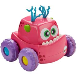 Fisher-Price FISHER PRICE PRESS `N GO MONSTER TRUCK PINK DRG16 / DRG14 887961333251