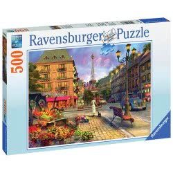 Ravensburger Παζλ Περίπατος Στο Παρίσι 14683 4005556146833