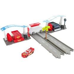 Mattel Disney Pixar Cars 3 Florida Speedway Pit Stop σετ παιχνιδιού DVT46 / FBH01 887961431001