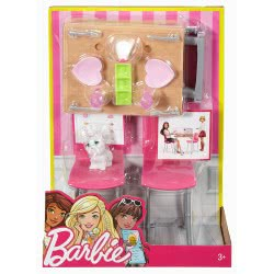Mattel Barbie Dining Set And Kitten: Date And Night DVX44 / DVX45 887961376746