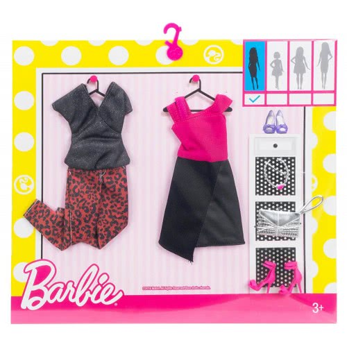 1ce71974538 Mattel Barbie Fashions Ρούχα Μόδας Edgy, Σετ των 2 FCT81 / DWG45