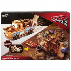 Mattel Disney/Pixar Cars 3 Transforming Mater Playset FCW03 / FCW05 887961460711