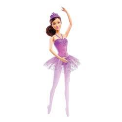 Mattel Barbie Μπαλαρίνα Κούκλα, Μωβ DHM41 / DHM43 887961216943