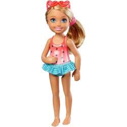 Mattel Barbie Chelsea And Friends - Swimming Doll DWJ33 / DWJ34 887961382617