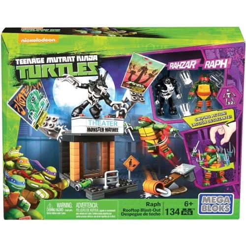 MEGA BLOKS Teenage Mutant Ninja Turtles Raph Rooftop Σετ Παιχνιδιού DPF63 / DPF64 887961315745