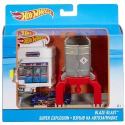 Mattel Hot Wheels Blaze Blast Σετ Παιχνιδιού Fold Out DWK99 / DWL01 887961384123