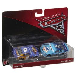 Mattel Disney/Pixar Cars 3 Bobby Swift And Cal Weathers DXV99 / DXW03 887961403794