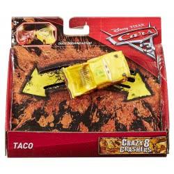Mattel Disney/Pixar Cars 3 Αυτοκινητάκια Crazy 8, Taco DYB03 / DYB07 887961407082