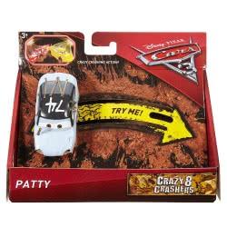 Mattel Disney/Pixar Cars 3 Αυτοκινητάκια Crazy 8, Patty DYB03 / DYB10 887961407105