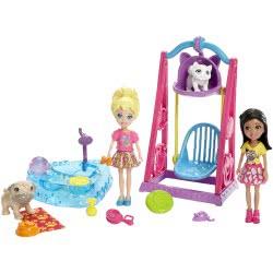 Mattel Polly Pocket Σετ Παιχνιδιού Με 2 Φιγούρες Pet Playtime DHY67 / DHY68 887961220308