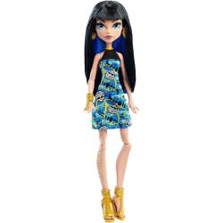 Mattel Monster High Cleo De Nile Dol DTD90 / DNV68 887961308464