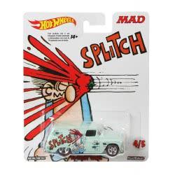 Mattel Hot Wheels Pop Culture Mad Splitch Αυτοκινητάκι DLB45 / DWH25 887961381634